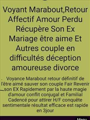 Photo n°479 : voyance par Marabout guérisseur retour affectif