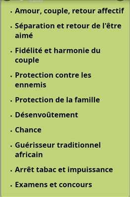 Exemple Voyant n°505 zone Creuse par Voyant marabout guérisseur 0627546899