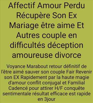 Photo Voyant n°506 à Langon par Voyant marabout guérisseur 0627546899